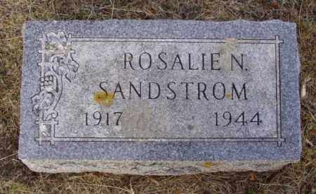 SANDSTROM, ROSALIE N. - Minnehaha County, South Dakota | ROSALIE N. SANDSTROM - South Dakota Gravestone Photos