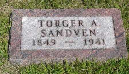 SANDVEN, TORGER A. - Minnehaha County, South Dakota | TORGER A. SANDVEN - South Dakota Gravestone Photos
