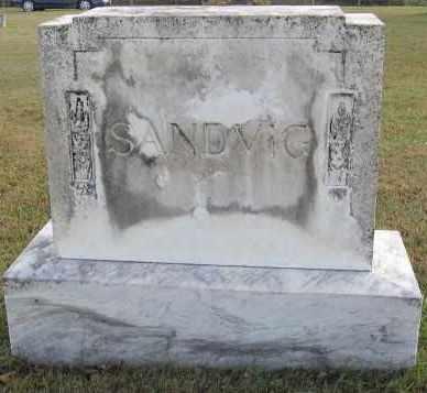 SANDVIG, FAMILY STONE - Minnehaha County, South Dakota | FAMILY STONE SANDVIG - South Dakota Gravestone Photos