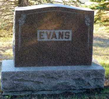 EVANS, LLOYD B. - Minnehaha County, South Dakota | LLOYD B. EVANS - South Dakota Gravestone Photos