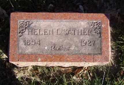 SATHER, HELEN L. - Minnehaha County, South Dakota | HELEN L. SATHER - South Dakota Gravestone Photos