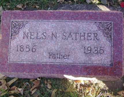 SATHER, NELS N. - Minnehaha County, South Dakota | NELS N. SATHER - South Dakota Gravestone Photos