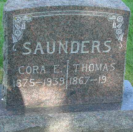 COOK SUANDERS, CORA E. - Minnehaha County, South Dakota | CORA E. COOK SUANDERS - South Dakota Gravestone Photos