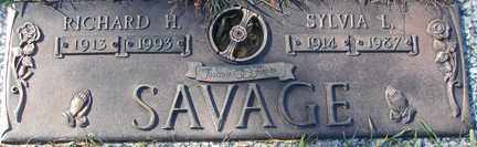 SAVAGE, RICHARD H. - Minnehaha County, South Dakota | RICHARD H. SAVAGE - South Dakota Gravestone Photos