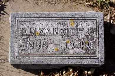 GROW SAWYER, ELIZABETH JANETTE - Minnehaha County, South Dakota | ELIZABETH JANETTE GROW SAWYER - South Dakota Gravestone Photos