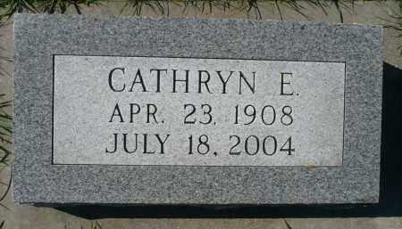 SCHAEFER, CATHRYN E. - Minnehaha County, South Dakota | CATHRYN E. SCHAEFER - South Dakota Gravestone Photos