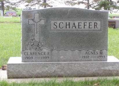 SCHAEFER, AGNES M. - Minnehaha County, South Dakota | AGNES M. SCHAEFER - South Dakota Gravestone Photos