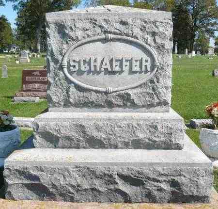 SCHAEFER, FAMILY MARKER - Minnehaha County, South Dakota | FAMILY MARKER SCHAEFER - South Dakota Gravestone Photos