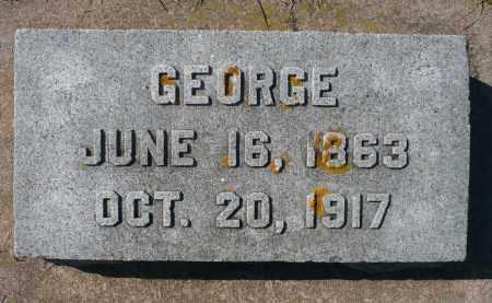 SCHAEFER, GEORGE - Minnehaha County, South Dakota   GEORGE SCHAEFER - South Dakota Gravestone Photos