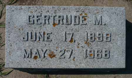 SCHAEFER, GERTRUDE M. - Minnehaha County, South Dakota | GERTRUDE M. SCHAEFER - South Dakota Gravestone Photos