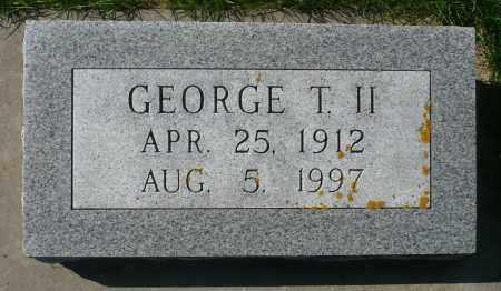 SCHAEFER, GEORGE T. II - Minnehaha County, South Dakota   GEORGE T. II SCHAEFER - South Dakota Gravestone Photos