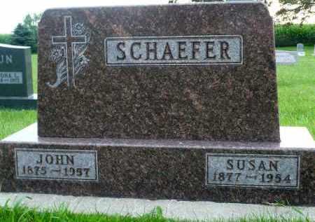 SCHAEFER, JOHN - Minnehaha County, South Dakota | JOHN SCHAEFER - South Dakota Gravestone Photos