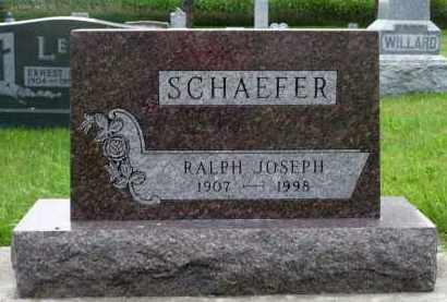 SCHAEFER, RALPH JOSEPH - Minnehaha County, South Dakota | RALPH JOSEPH SCHAEFER - South Dakota Gravestone Photos