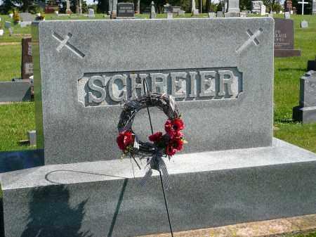 SCHREIER, FAMILY MARKER - Minnehaha County, South Dakota   FAMILY MARKER SCHREIER - South Dakota Gravestone Photos