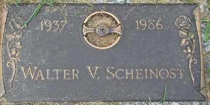 SCHEINOST, WALTER V. - Minnehaha County, South Dakota   WALTER V. SCHEINOST - South Dakota Gravestone Photos