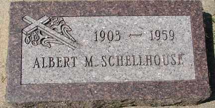 SCHELLHOUSE, ALBERT M. - Minnehaha County, South Dakota | ALBERT M. SCHELLHOUSE - South Dakota Gravestone Photos