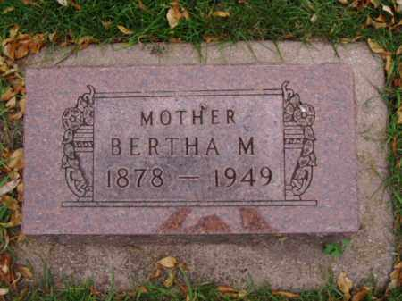 SCHERFF, BERTHA M. - Minnehaha County, South Dakota   BERTHA M. SCHERFF - South Dakota Gravestone Photos