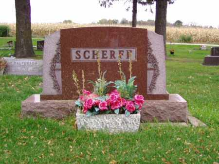 SCHERFF, FRED W. - Minnehaha County, South Dakota | FRED W. SCHERFF - South Dakota Gravestone Photos