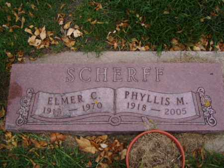 SCHERFF, PHYLLIS M. - Minnehaha County, South Dakota | PHYLLIS M. SCHERFF - South Dakota Gravestone Photos