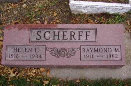 SCHERFF, RAYMOND M. - Minnehaha County, South Dakota | RAYMOND M. SCHERFF - South Dakota Gravestone Photos