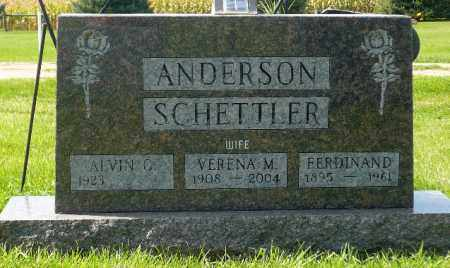 HEINEMANN SCHETTLER, VERENA M. - Minnehaha County, South Dakota | VERENA M. HEINEMANN SCHETTLER - South Dakota Gravestone Photos