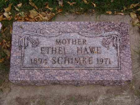 SCHIMKE, ETHEL - Minnehaha County, South Dakota   ETHEL SCHIMKE - South Dakota Gravestone Photos