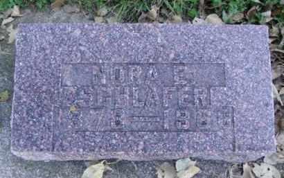 SCHLAFTER, NORA E. - Minnehaha County, South Dakota | NORA E. SCHLAFTER - South Dakota Gravestone Photos