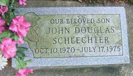 SCHLECHTER, JOHN DOUGLAS - Minnehaha County, South Dakota | JOHN DOUGLAS SCHLECHTER - South Dakota Gravestone Photos