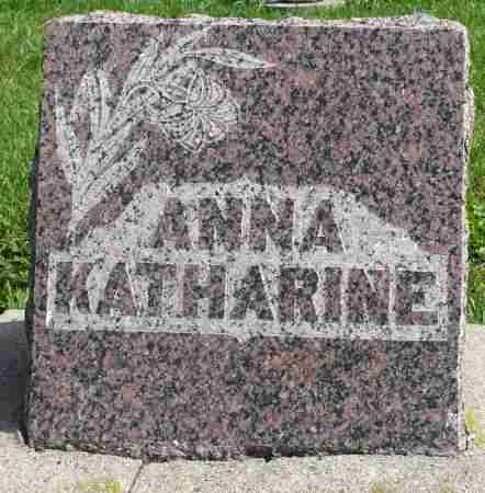 SCHLEICH, ANNA KATHARINE - Minnehaha County, South Dakota | ANNA KATHARINE SCHLEICH - South Dakota Gravestone Photos