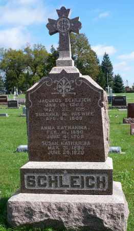 SCHLEICH, SUSAN KATHARINA - Minnehaha County, South Dakota | SUSAN KATHARINA SCHLEICH - South Dakota Gravestone Photos