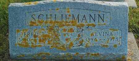 SCHLIEMANN, FRED R. - Minnehaha County, South Dakota | FRED R. SCHLIEMANN - South Dakota Gravestone Photos