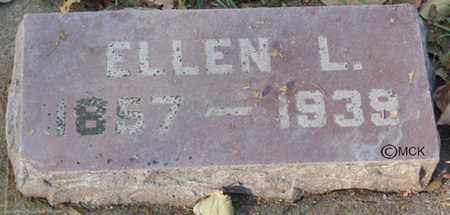 SCHLOSSER, ELLEN L. - Minnehaha County, South Dakota   ELLEN L. SCHLOSSER - South Dakota Gravestone Photos