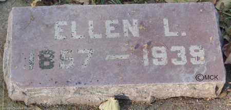 SCHLOSSER, ELLEN L. - Minnehaha County, South Dakota | ELLEN L. SCHLOSSER - South Dakota Gravestone Photos