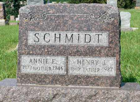 SCHMIDT, HENRY J. - Minnehaha County, South Dakota | HENRY J. SCHMIDT - South Dakota Gravestone Photos
