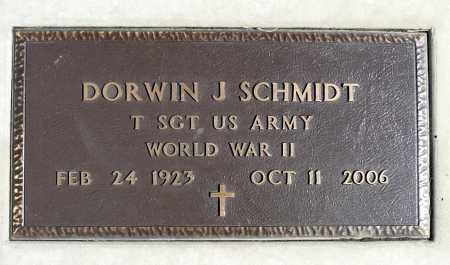 SCHMIDT, DORWIN J. (WWII) - Minnehaha County, South Dakota   DORWIN J. (WWII) SCHMIDT - South Dakota Gravestone Photos