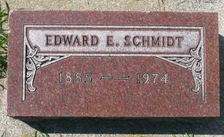 SCHMIDT, EDWARD E. - Minnehaha County, South Dakota   EDWARD E. SCHMIDT - South Dakota Gravestone Photos