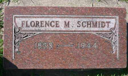 SCHMIDT, FLORENCE M. - Minnehaha County, South Dakota | FLORENCE M. SCHMIDT - South Dakota Gravestone Photos