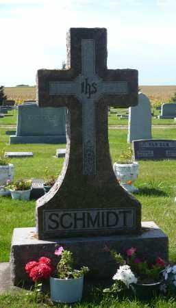 SCHMIDT, FAMILY MARKER - Minnehaha County, South Dakota | FAMILY MARKER SCHMIDT - South Dakota Gravestone Photos