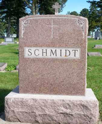 SCHMIDT, FAMILY MARKER - Minnehaha County, South Dakota   FAMILY MARKER SCHMIDT - South Dakota Gravestone Photos