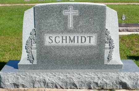 SCHMIDT, FAMILY MARKER - Minnehaha County, South Dakota | FAMILY MARKER SCHMIDT - South Dakota Gravestone Photos