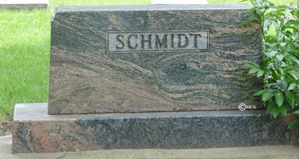 SCHMIDT, FAMILY HEADSTONE - Minnehaha County, South Dakota | FAMILY HEADSTONE SCHMIDT - South Dakota Gravestone Photos