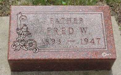 SCHMIDT, FRED W. - Minnehaha County, South Dakota | FRED W. SCHMIDT - South Dakota Gravestone Photos