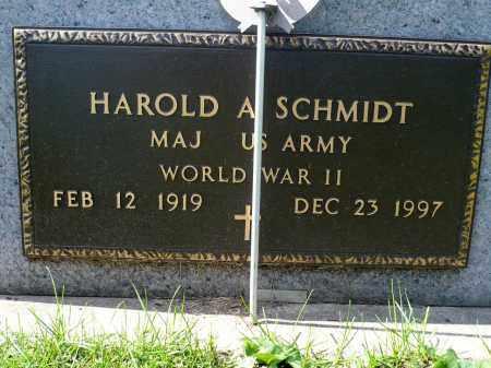 SCHMIDT, HAROLD A. (WWII) - Minnehaha County, South Dakota | HAROLD A. (WWII) SCHMIDT - South Dakota Gravestone Photos