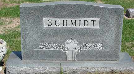 SCHMIDT, HEADSTONE - Minnehaha County, South Dakota | HEADSTONE SCHMIDT - South Dakota Gravestone Photos