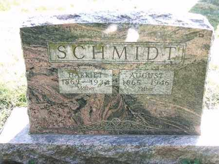 SCHMIDT, AUGUST - Minnehaha County, South Dakota   AUGUST SCHMIDT - South Dakota Gravestone Photos