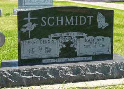 SCHMIDT, MARY ANN - Minnehaha County, South Dakota | MARY ANN SCHMIDT - South Dakota Gravestone Photos