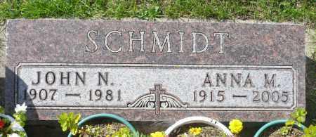 SCHMIDT, JOHN N. - Minnehaha County, South Dakota | JOHN N. SCHMIDT - South Dakota Gravestone Photos