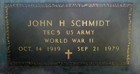 SCHMIDT, JOHN H. (WWII) - Minnehaha County, South Dakota | JOHN H. (WWII) SCHMIDT - South Dakota Gravestone Photos