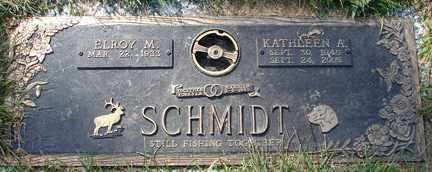 SCHMIDT, KATHLEEN A. - Minnehaha County, South Dakota | KATHLEEN A. SCHMIDT - South Dakota Gravestone Photos