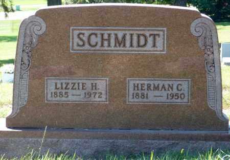 SCHMIDT, LIZZIE H. - Minnehaha County, South Dakota | LIZZIE H. SCHMIDT - South Dakota Gravestone Photos